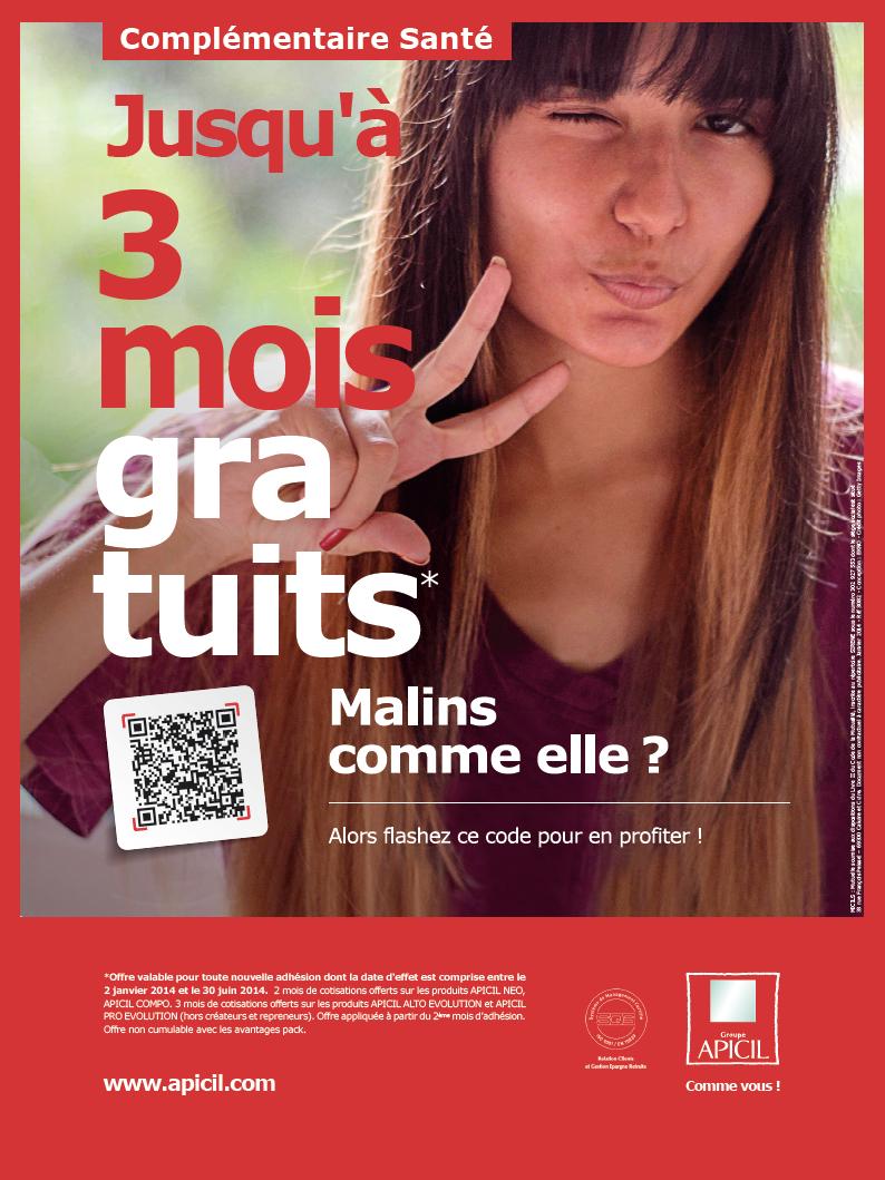 Affiche Promo Santé du Groupe APICIL