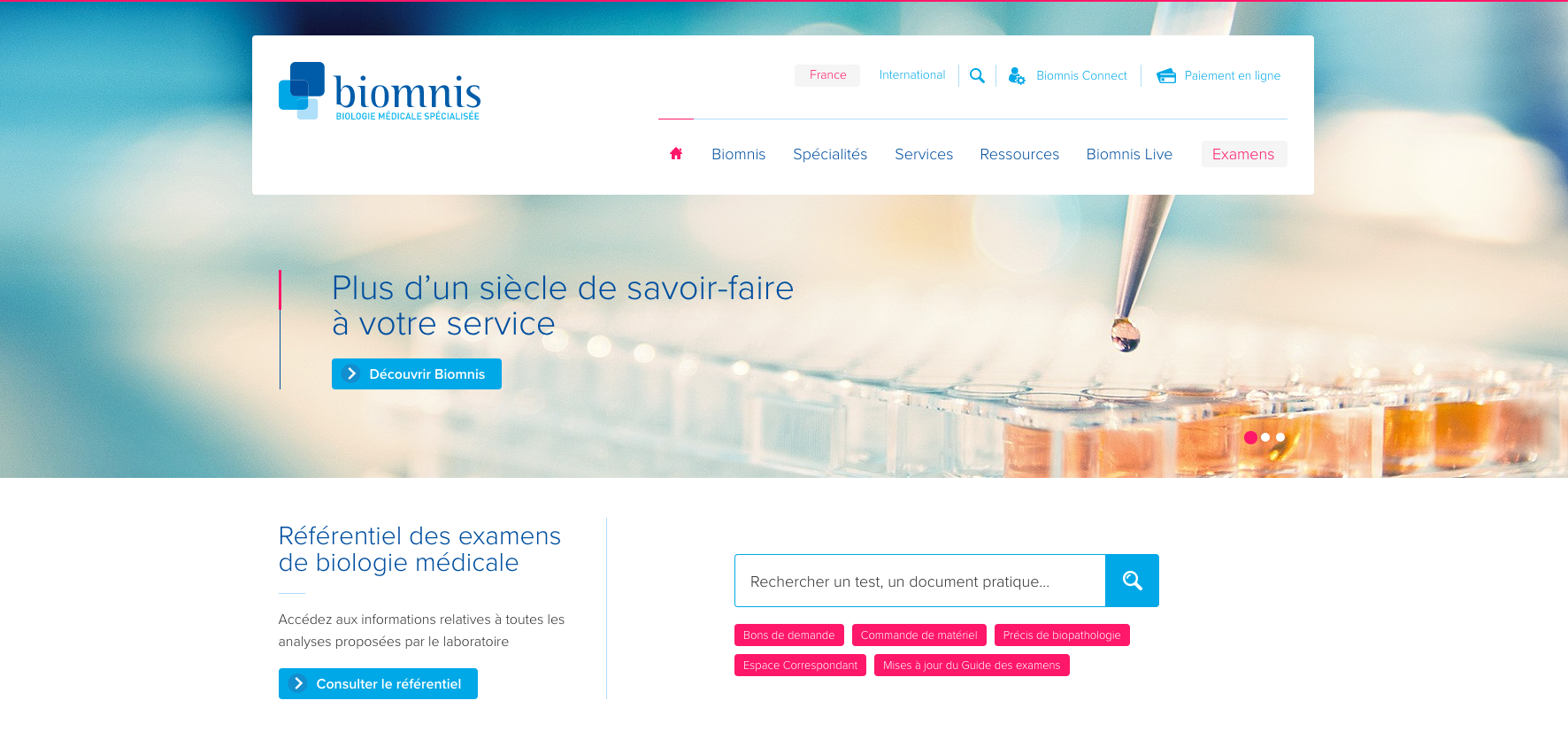 Biomnis_Site
